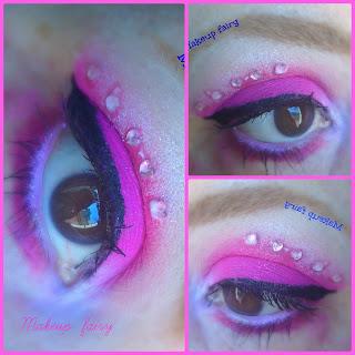 eye makeup look monster high catty noir