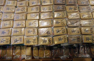 China: custom officers make city's largest-ever cocaine bust