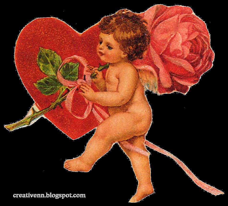 Ангелы любви на открытку 396
