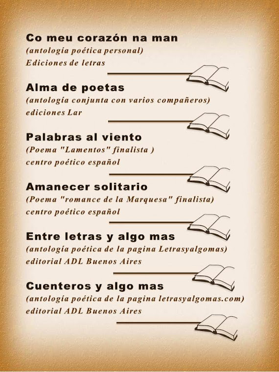 lista de mis libros