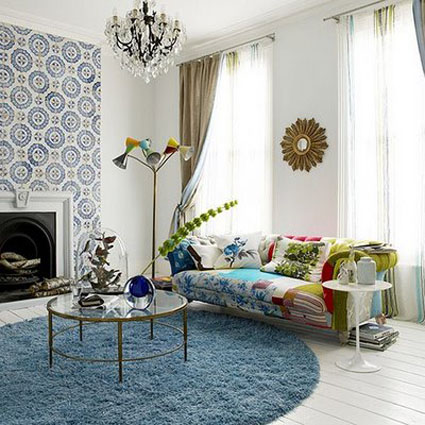 Anthropologie Inspired Living Rooms