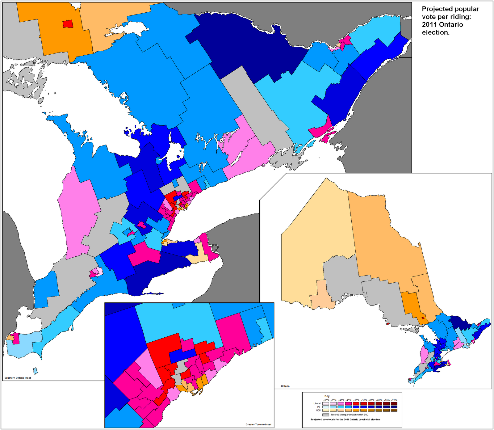 ontario election 2011 prediction september 13