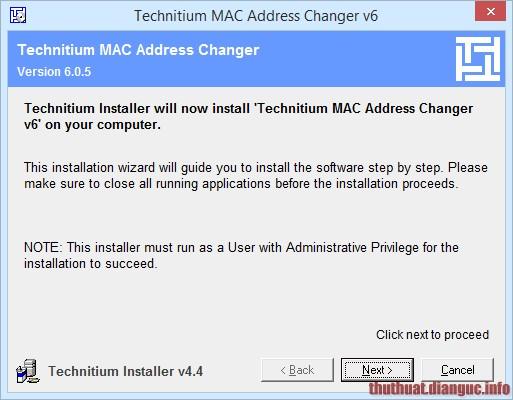 cách đổi địa chỉ MAC trong Windows
