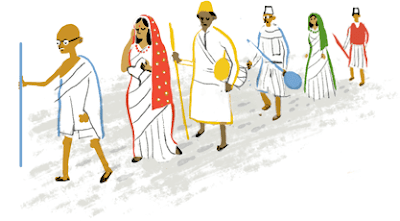 Google Doodle on India's 69th Independence Day