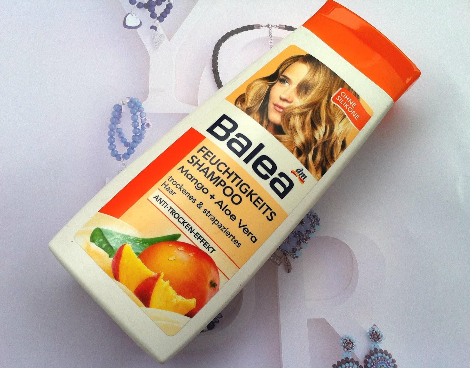 Balea szampon nawilżający mango i aloes!