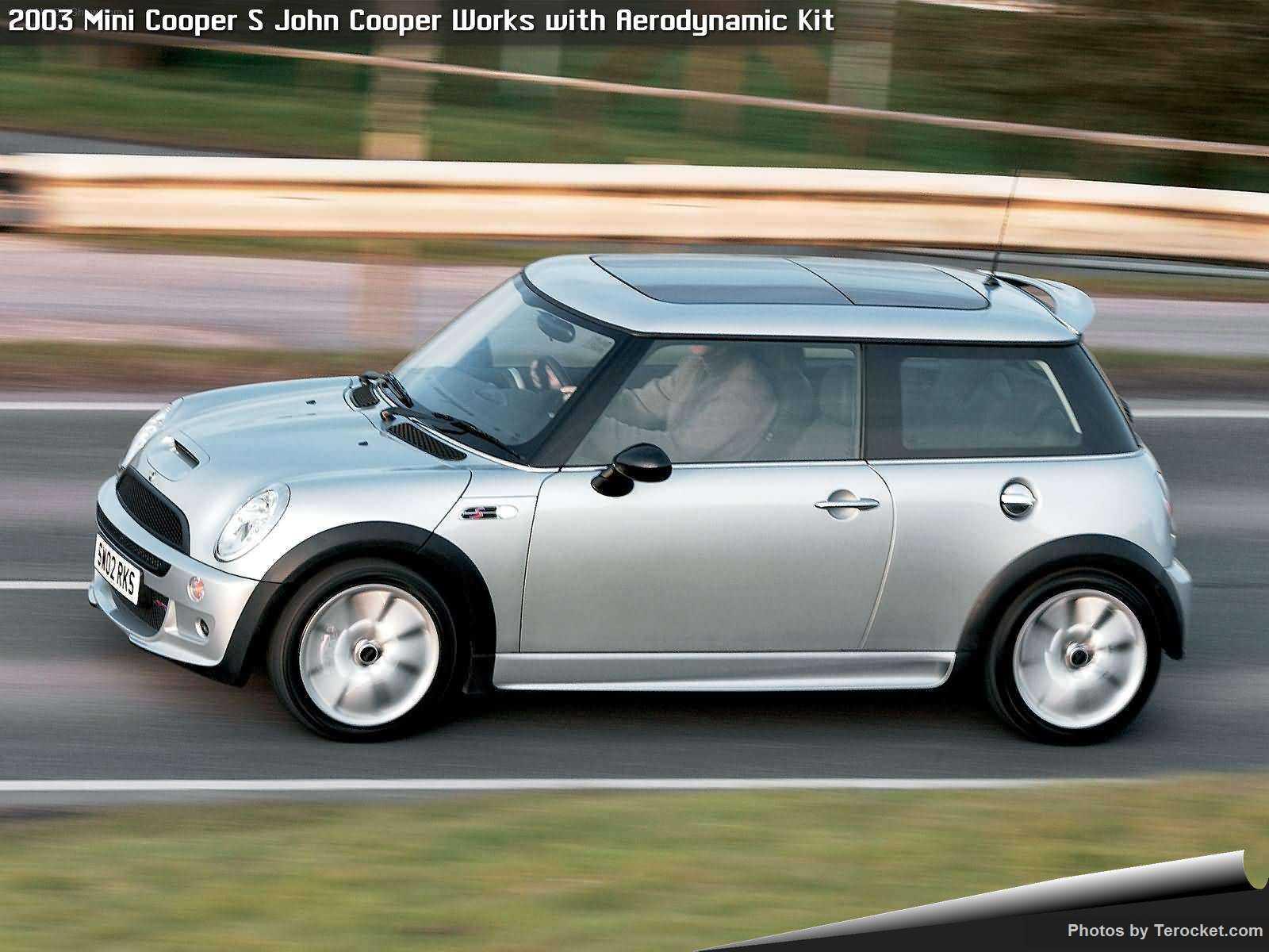 Hình ảnh xe ô tô Mini Cooper S John Cooper Works with Aerodynamic Kit 2003 & nội ngoại thất