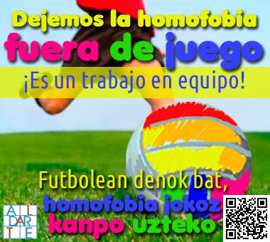 HOMOFOBIA JOKOZ KANPO UTZI !!!
