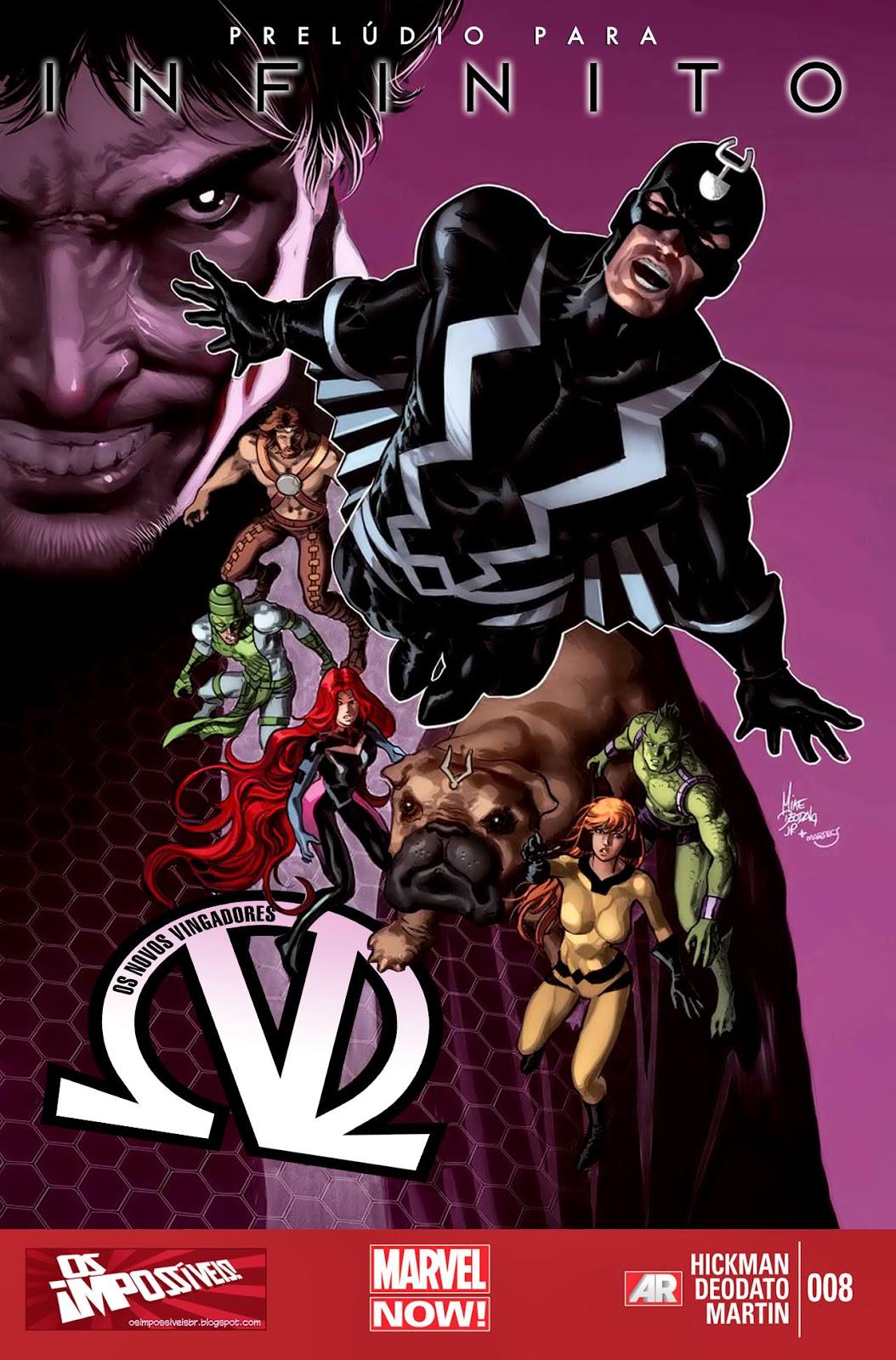 Nova Marvel! Os Novos Vingadores #8