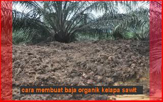 cara membuat baja organik kelapa sawit