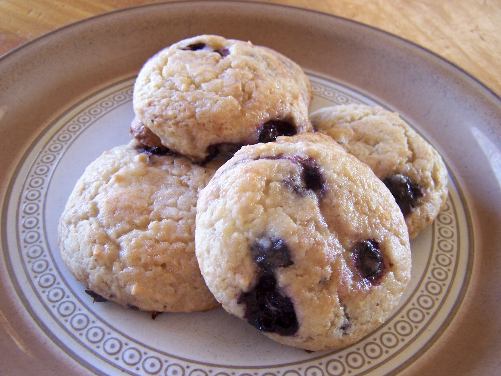 Mommy's Menu: Blueberry Muffin Top Cookies