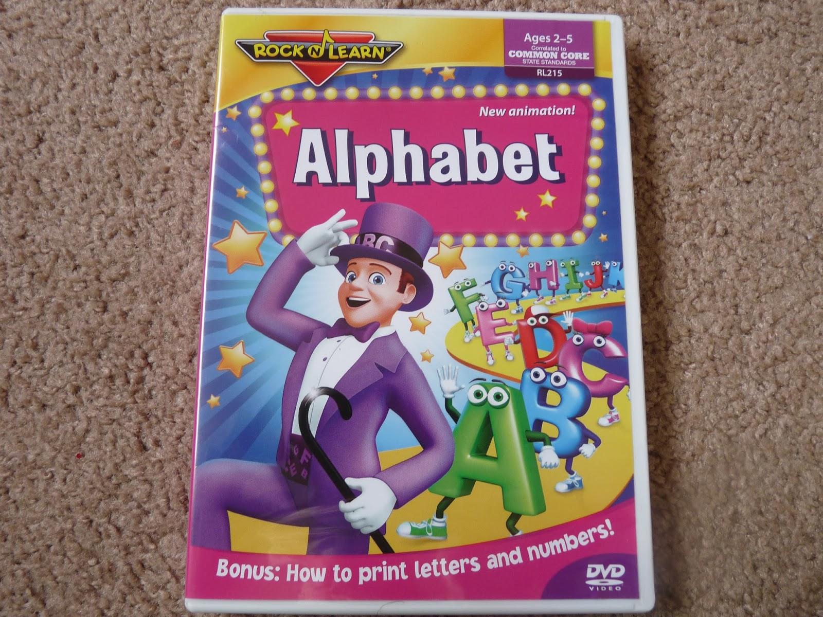 Amazon.com: alphabet dvd for kids