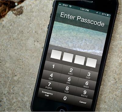 iPhone locks up