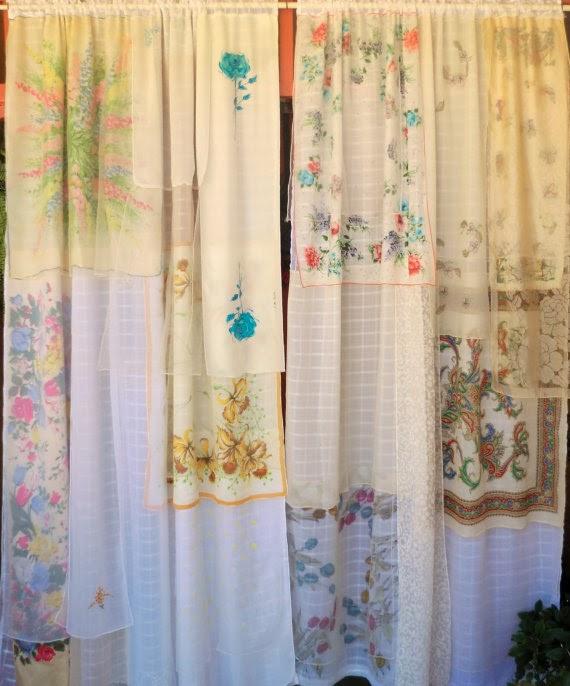 Shabby Chic Vintage Boho Curtains