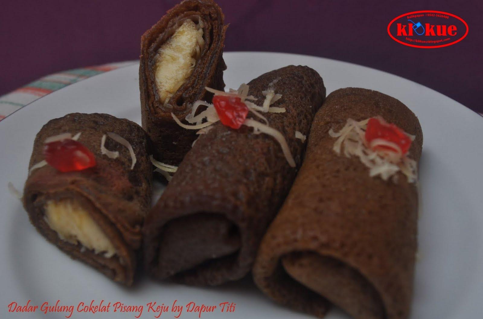 Klikue Balikpapan Cakes And Puddings Online Shop Dadar Gulung Cokelat