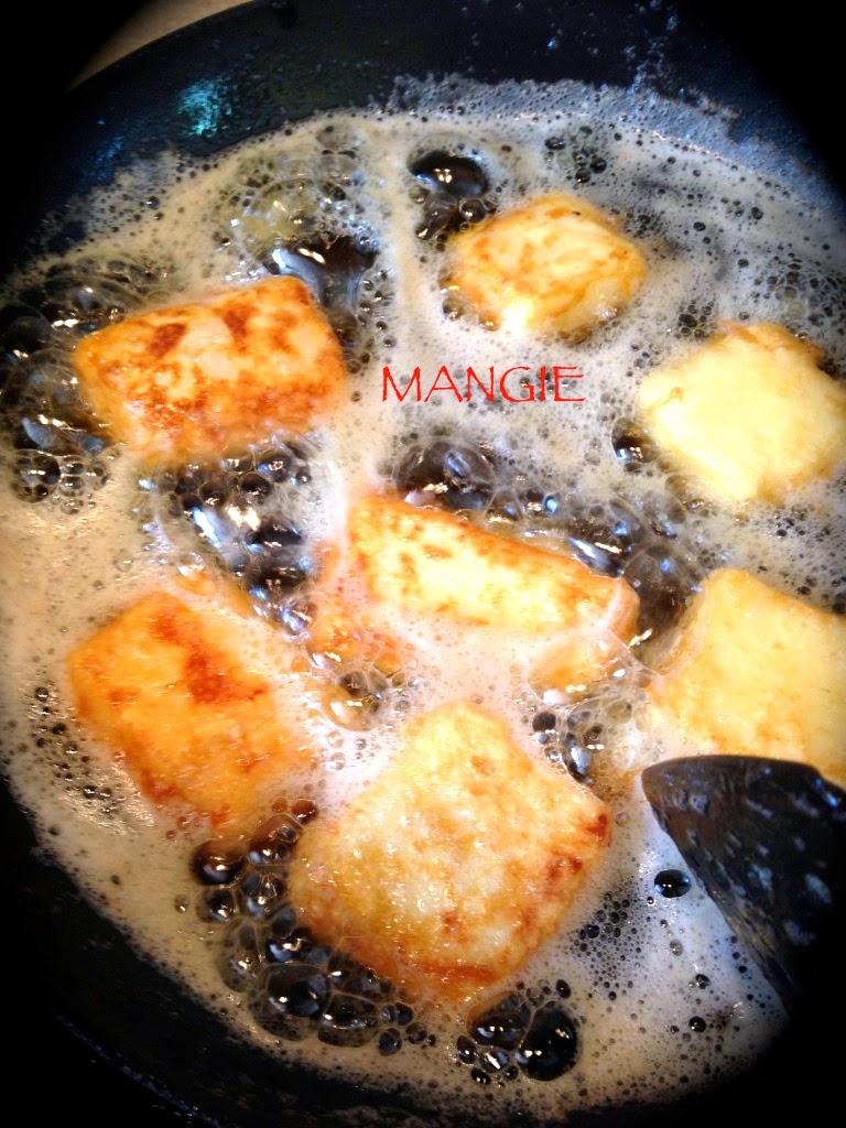 Freír la leche