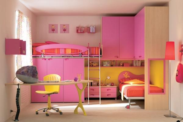 Dormitorios rosa para chicas adolescentes dormitorios Diseno de habitaciones para adolescentes