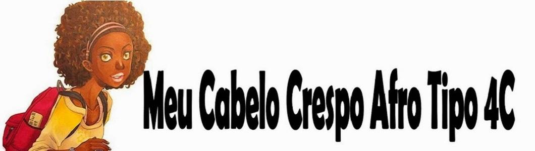Meu Cabelo Crespo (Afro tipo 4C)