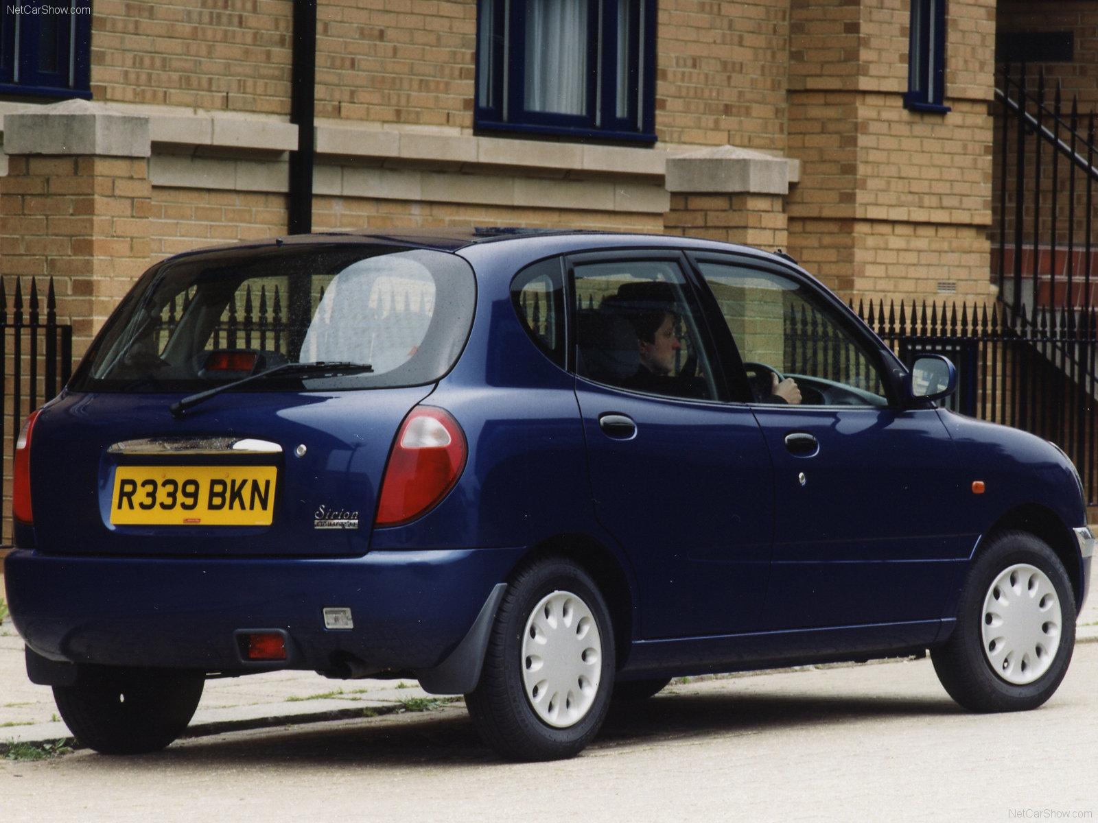Hình ảnh xe ô tô Daihatsu Sirion 1999 & nội ngoại thất