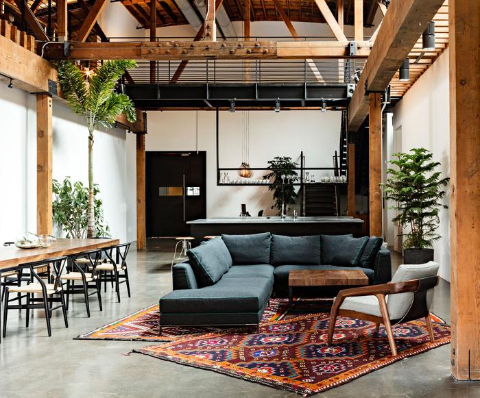 Interior Design Industrial Loft Interior Design