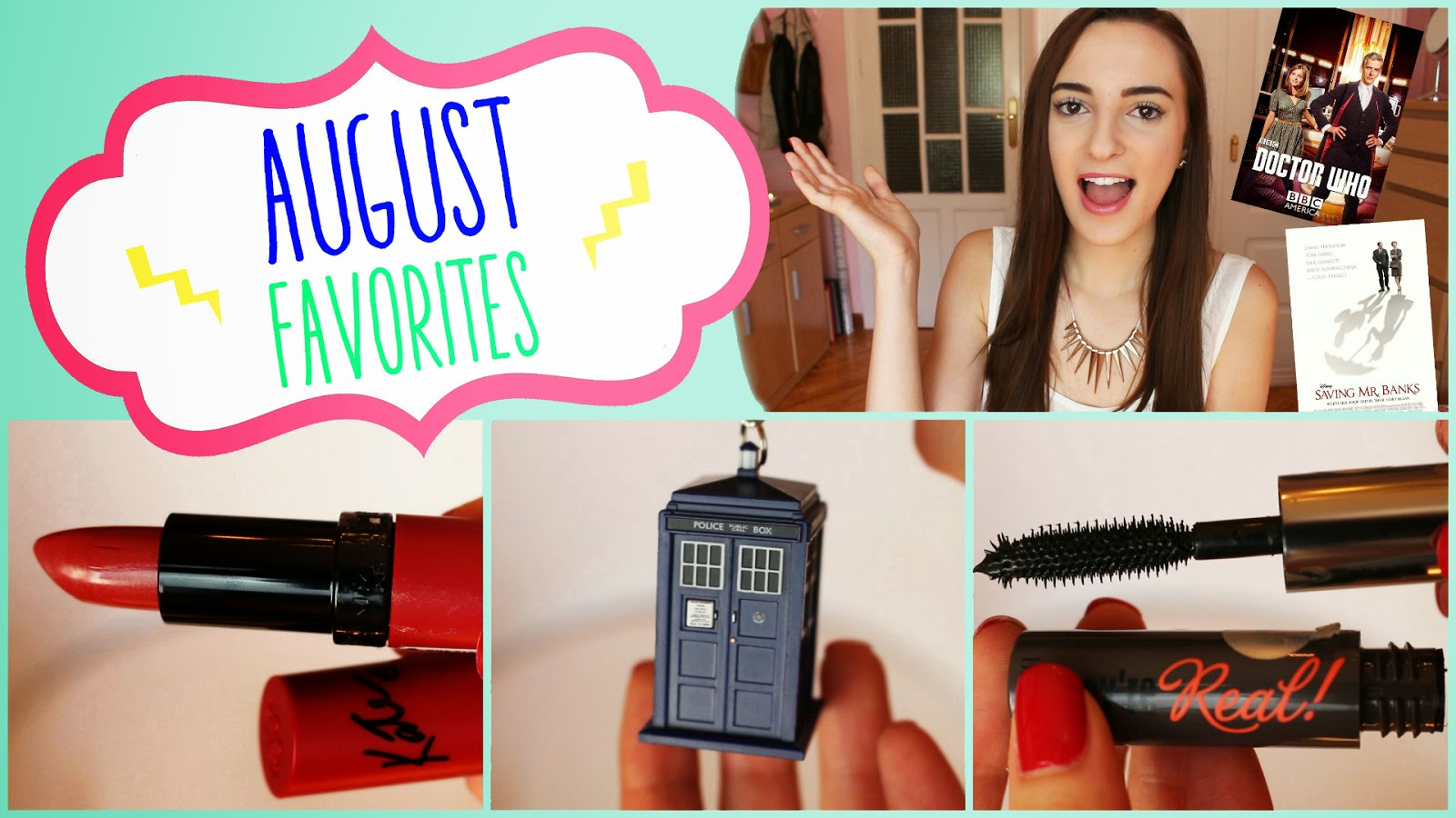 august favorites makeup rimmel benefit they're real mascara
