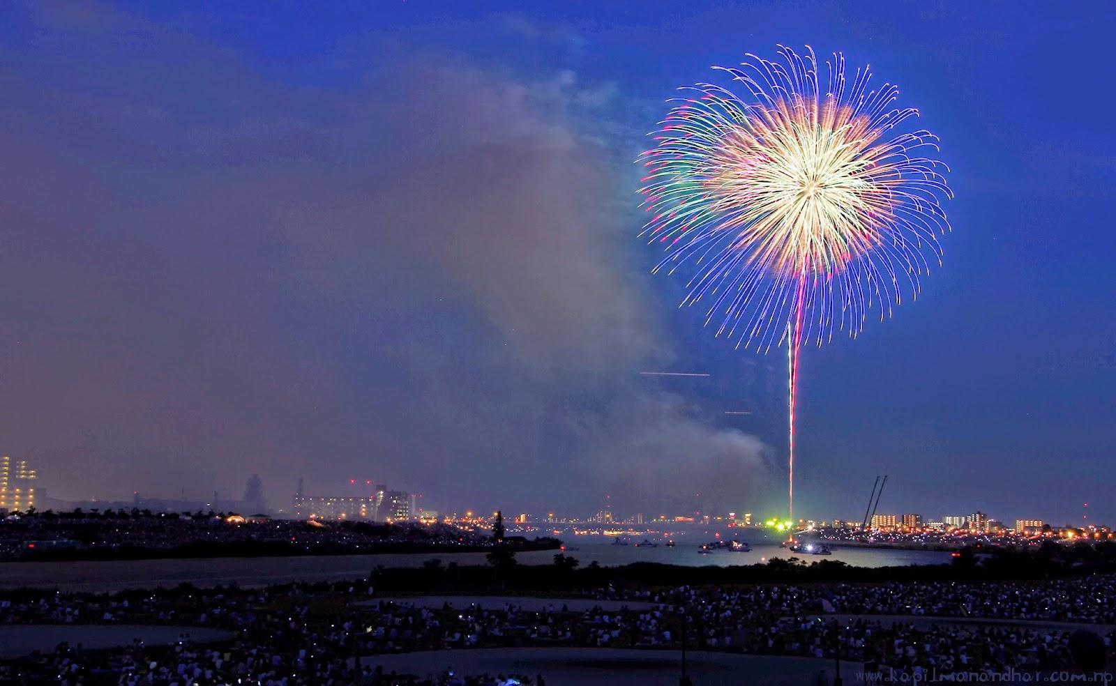 Fireworks Tokyo Edogawa 2014 花火大会 江戸川2014