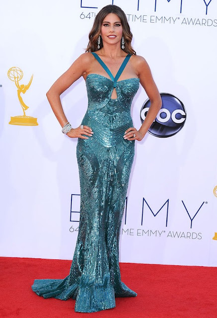 Sofia Vergara – in Zuhair Murad – at the 64th Primetime Emmy Awards in Los Angeles