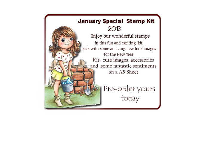 January 2013 Stamp Kit