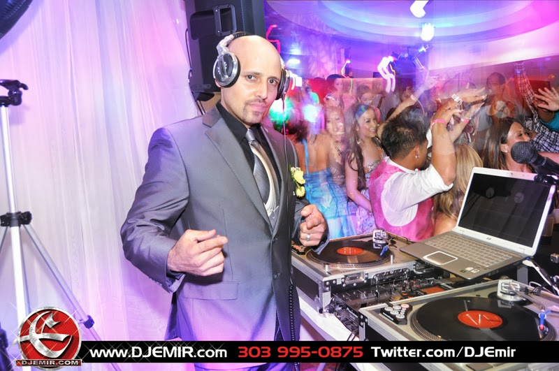 DJ Emir Denver Nightclub Wedding and Prom DJ