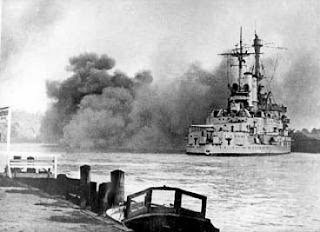 Schleswig Holstein attacks Polish port at Gdynia Sept 11939
