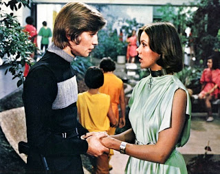 Michael York and Jennie Agutter in Logan's Run