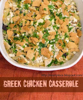 Greek Chicken Casserole
