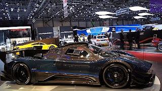 C'est la voiture Pagani Zonda la plus chère du salon de Genève 2014