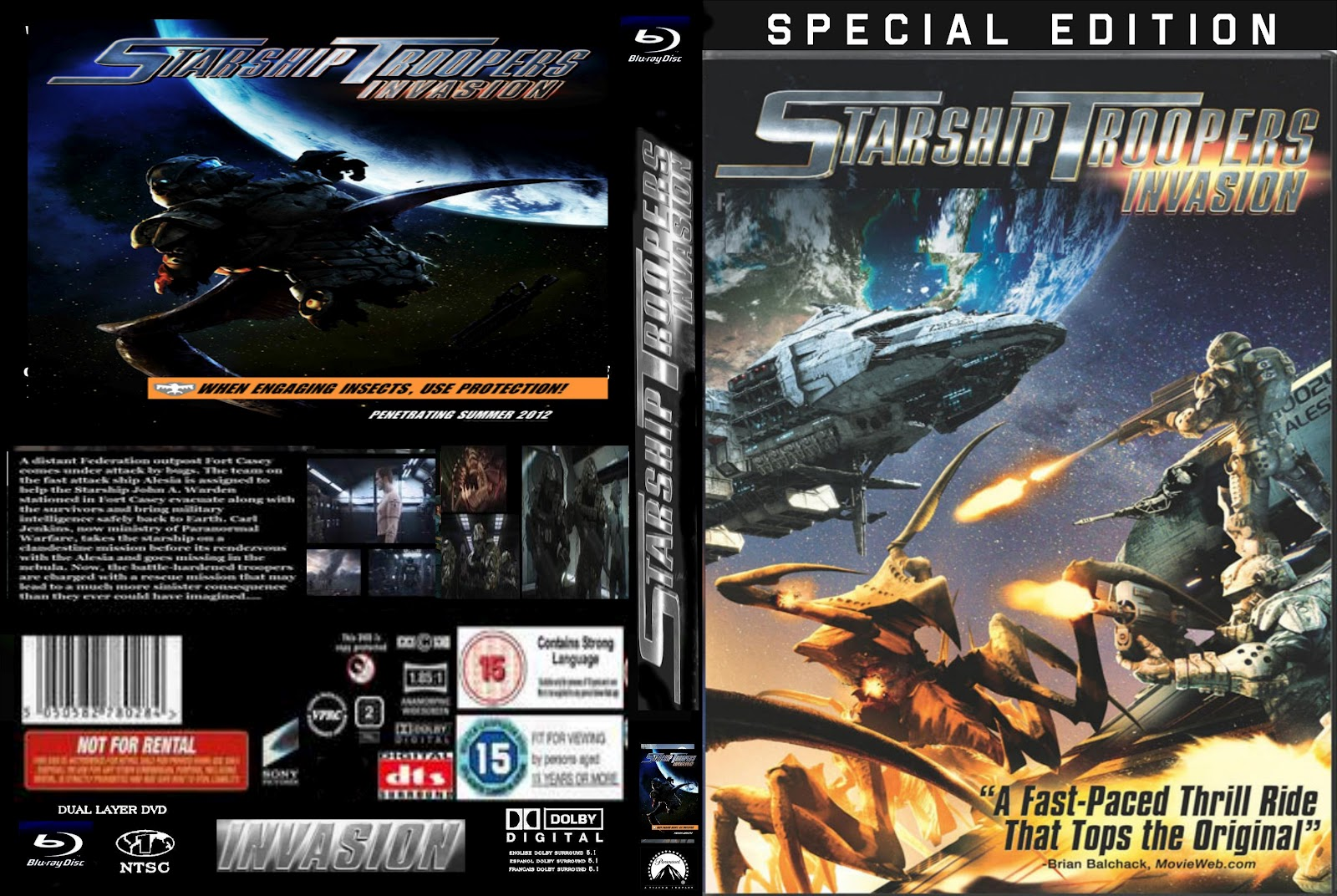 Starship Troopers: Invasion Photos - 379.2KB