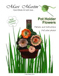 Crochet Flowerpot
