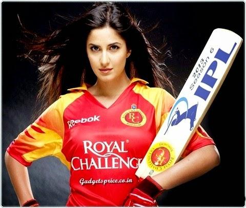 Katrina Kaif- Royal Challengers Bangalore
