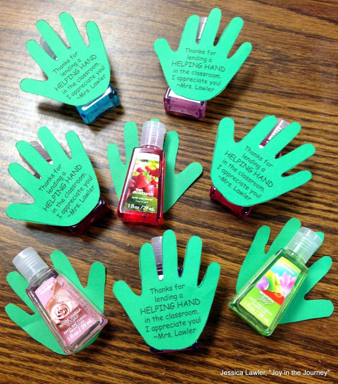 Volunteer gift ideas for christmas