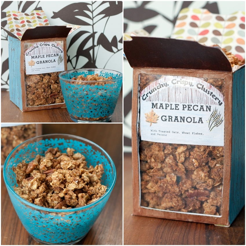 Crispy, Crunchy, Clustery Maple-Pecan Granola - Izy Hossack - Top With ...