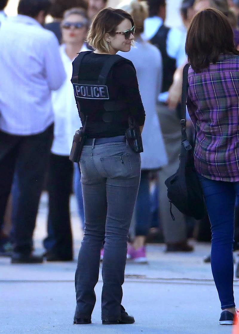 Tight jeans upskirt