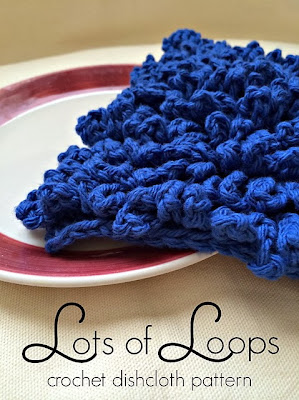 free crochet dishcloth pattern