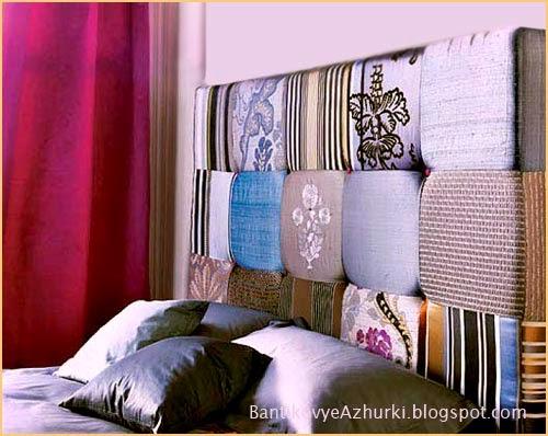 Мягкая спинка (изголовье) для дивана или кровати своими руками