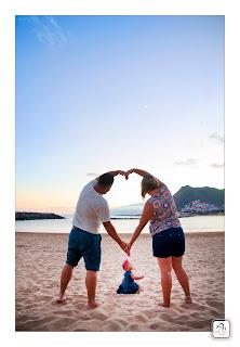 Fotógrafo de niños y bebés con la familia en Tenerife