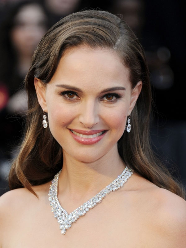 Natalie Portman Beautiful Close Up Pose Sky Seventh Surga
