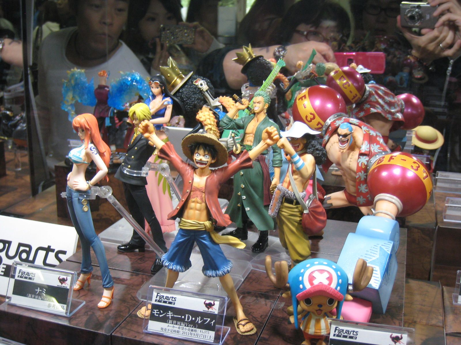 One Piece Time Skip Figures