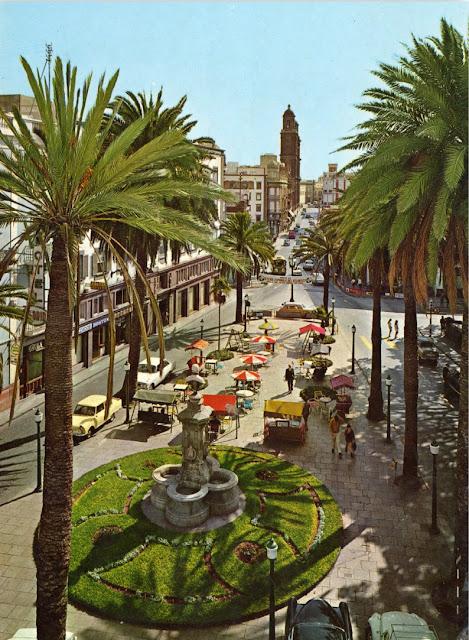 Plaza de Cairasco en Las Palmas de Gran Canaria.