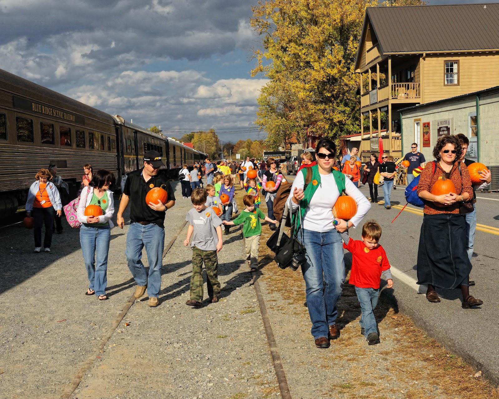 Celebrate Halloween In Blue Ridge