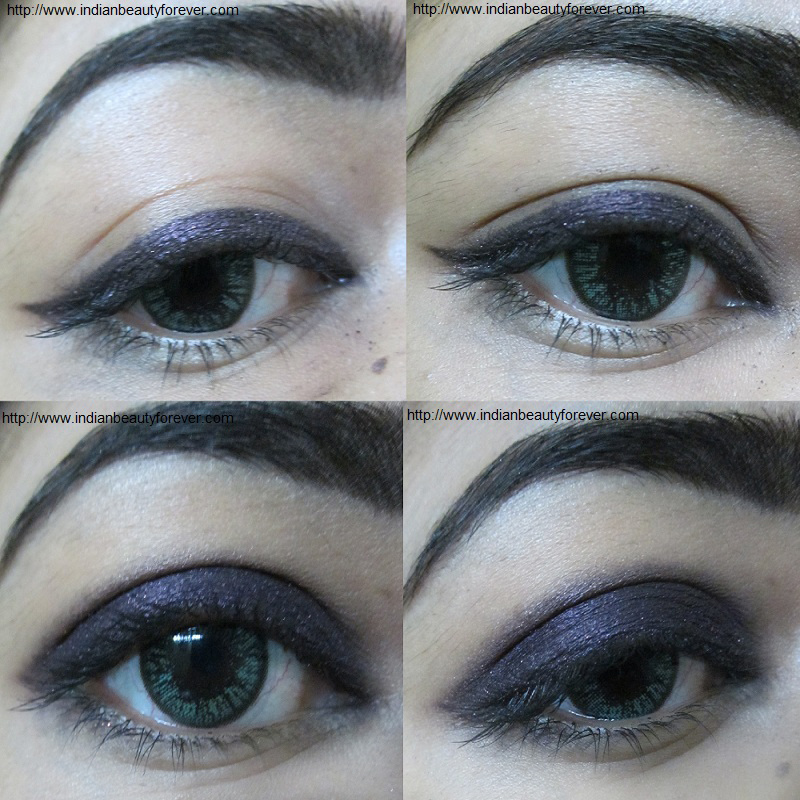 L'oreal infallible eyeshadow in burning black