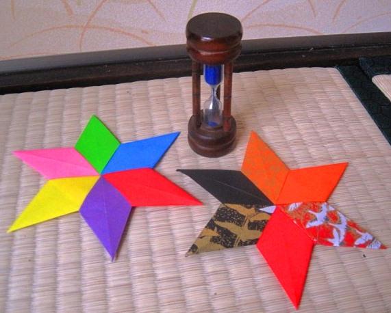 Tomoko Fuse Hexagon Box Instructions : Origami maniacs hexagonal star by tomoko fuse