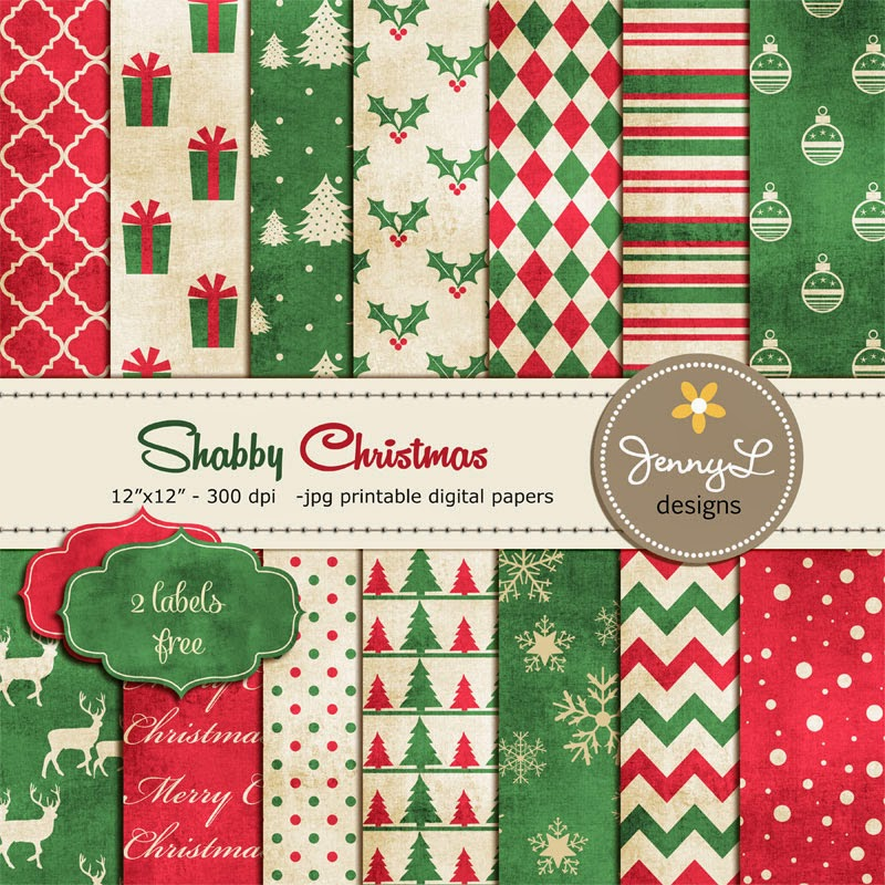 https://www.etsy.com/listing/211107549/christmas-digital-paper-shabby-christmas?