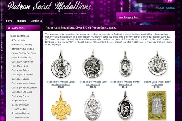 Patron Saints Jewelry