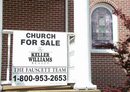 Image result for why are churches closing